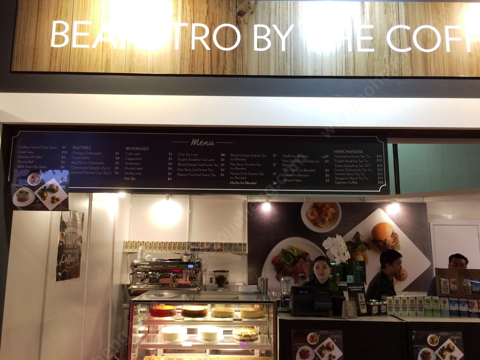 3._Beanstro_By_the_Coffee_Bean_Menu