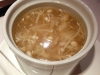 Crabmeat soup with Golden Mushroom