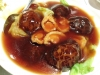 Braised Whole Abalone with Black Mushroom