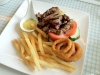 Skyve Wine Bistro's Minute Beef Steak Sandwich
